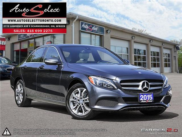 2015 Mercedes-Benz C-Class 4Matic (Stk: 15GC3818) in Scarborough - Image 1 of 29