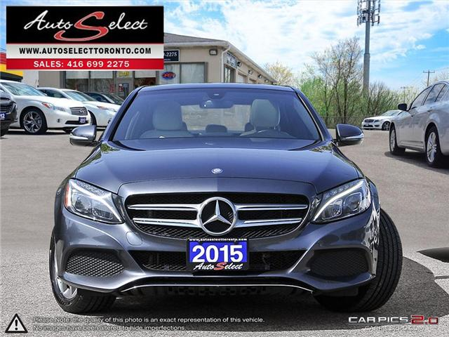 2015 Mercedes-Benz C-Class 4Matic (Stk: 15GC3818) in Scarborough - Image 2 of 29