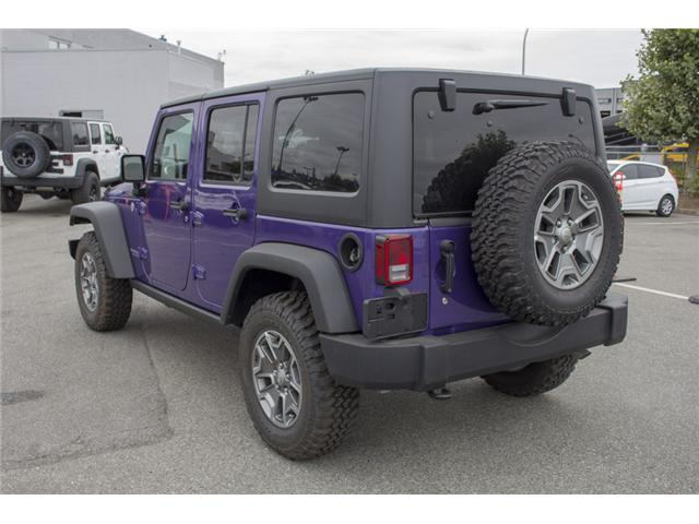 2017 Jeep Wrangler Unlimited Rubicon (Stk: HL692822N) in Surrey - Image 5 of 28