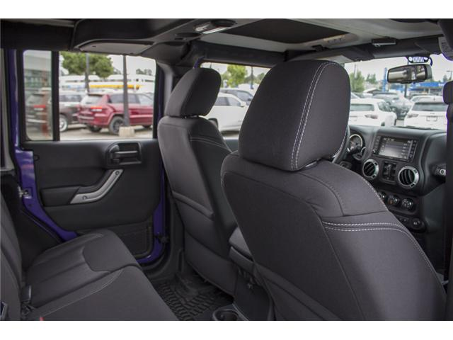 2017 Jeep Wrangler Unlimited Rubicon (Stk: HL692822N) in Surrey - Image 16 of 28