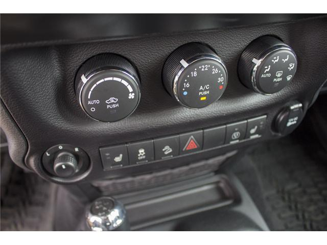 2017 Jeep Wrangler Unlimited Rubicon (Stk: HL692822N) in Surrey - Image 23 of 28