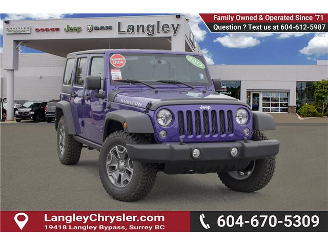 2017 Jeep Wrangler Unlimited Rubicon (Stk: HL692822N) in Surrey - Image 1 of 28