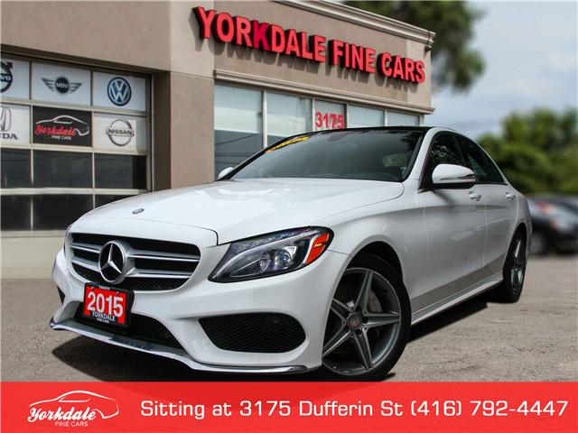 2015 Mercedes-Benz C-Class  (Stk: S02335) in Toronto - Image 1 of 29