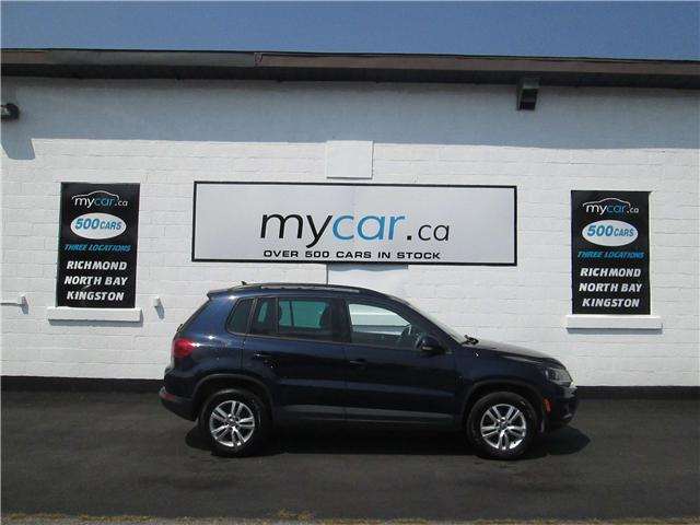 2015 Volkswagen Tiguan Trendline (Stk: 181135) in Kingston - Image 1 of 11