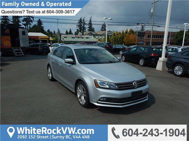 2015 Volkswagen Jetta 2.0 TDI Highline (Stk: VW0728) in Surrey - Image 1 of 26