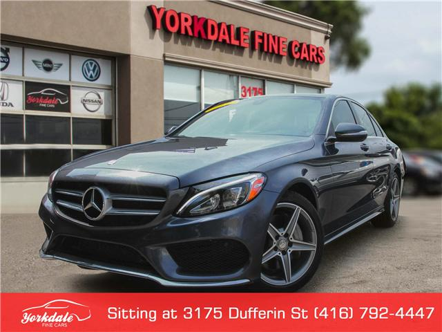 2015 Mercedes-Benz C-Class  (Stk: SA0336) in Toronto - Image 1 of 30