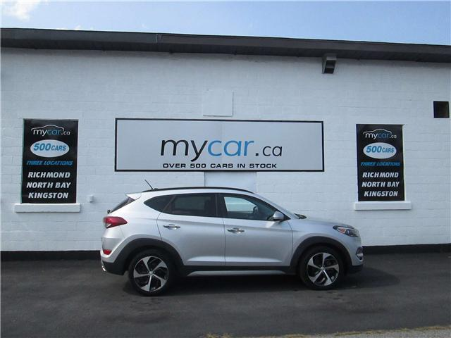 2017 Hyundai Tucson SE (Stk: 180993) in North Bay - Image 1 of 12