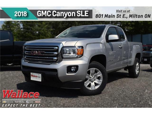 2018 GMC Canyon SLE (Stk: 217156) in Milton - Image 1 of 9