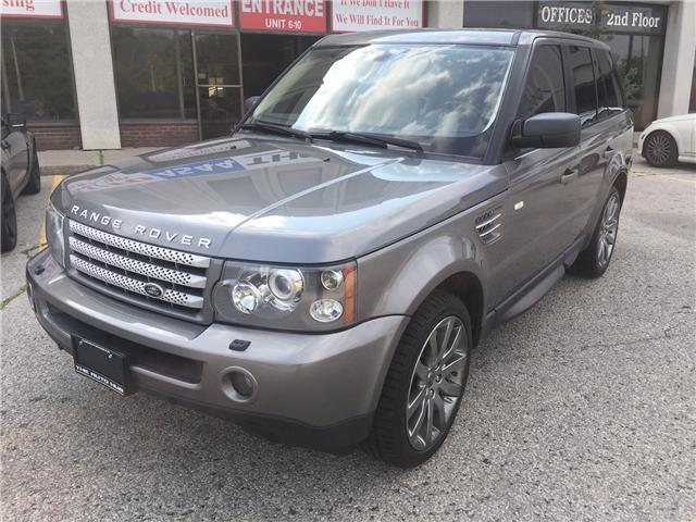 2009 Land Rover Range Rover Sport Supercharged (Stk: ) in Toronto - Image 1 of 21