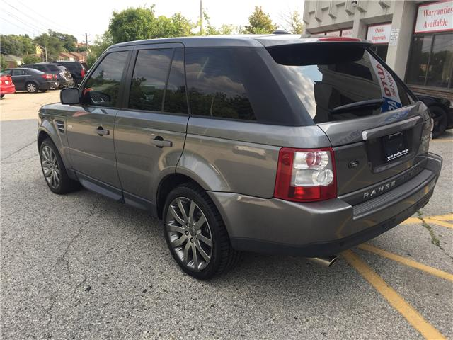 2009 Land Rover Range Rover Sport Supercharged (Stk: ) in Toronto - Image 3 of 21