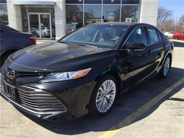 2018 Toyota Camry XLE (Stk: N34117) in Goderich - Image 1 of 3