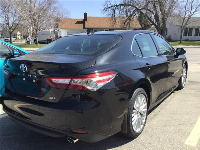 2018 Toyota Camry XLE (Stk: N34117) in Goderich - Image 2 of 3
