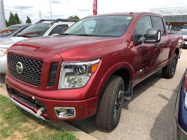 2018 Nissan Titan PRO-4X (Stk: U0701) in Cambridge - Image 1 of 5