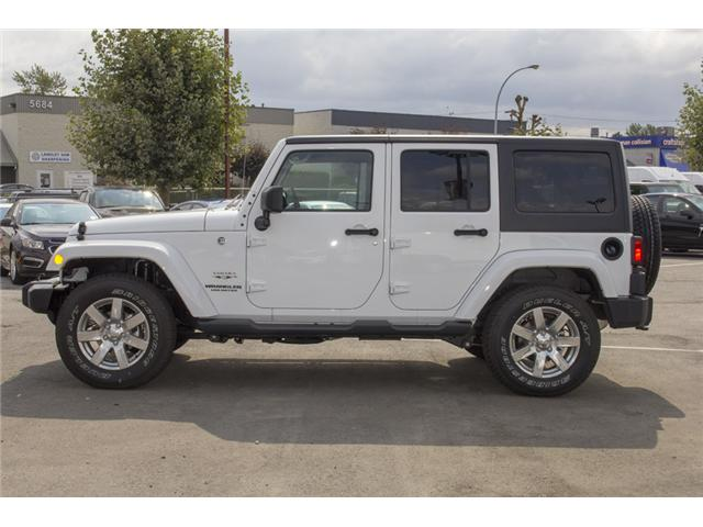 2017 Jeep Wrangler Unlimited Sahara (Stk: H702794) in Surrey - Image 4 of 25