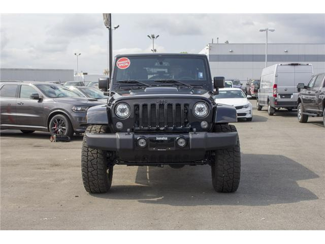 2017 Jeep Wrangler Unlimited Sahara (Stk: H654187) in Surrey - Image 2 of 26