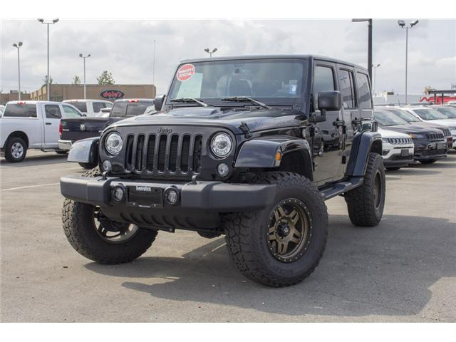 2017 Jeep Wrangler Unlimited Sahara (Stk: H654187) in Surrey - Image 3 of 26