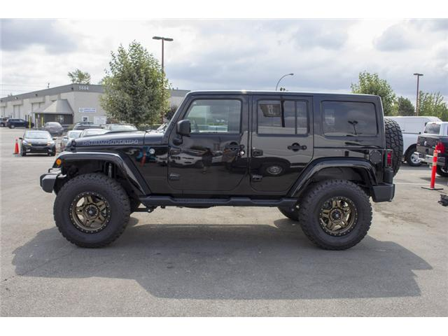 2017 Jeep Wrangler Unlimited Sahara (Stk: H654187) in Surrey - Image 4 of 26