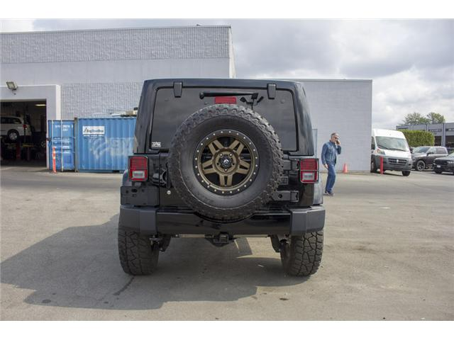 2017 Jeep Wrangler Unlimited Sahara (Stk: H654187) in Surrey - Image 6 of 26