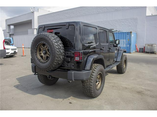 2017 Jeep Wrangler Unlimited Sahara (Stk: H654187) in Surrey - Image 7 of 26