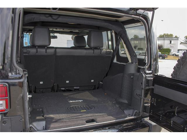 2017 Jeep Wrangler Unlimited Sahara (Stk: H654187) in Surrey - Image 9 of 26