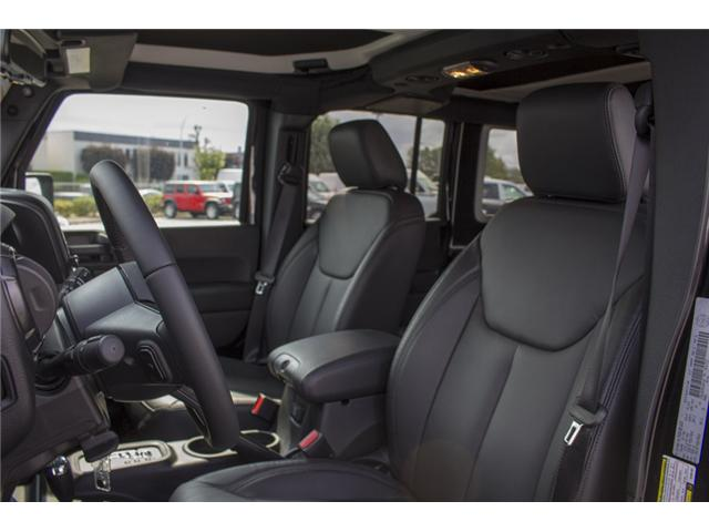 2017 Jeep Wrangler Unlimited Sahara (Stk: H654187) in Surrey - Image 10 of 26