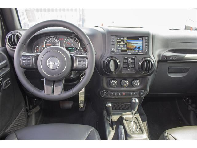2017 Jeep Wrangler Unlimited Sahara (Stk: H654187) in Surrey - Image 13 of 26