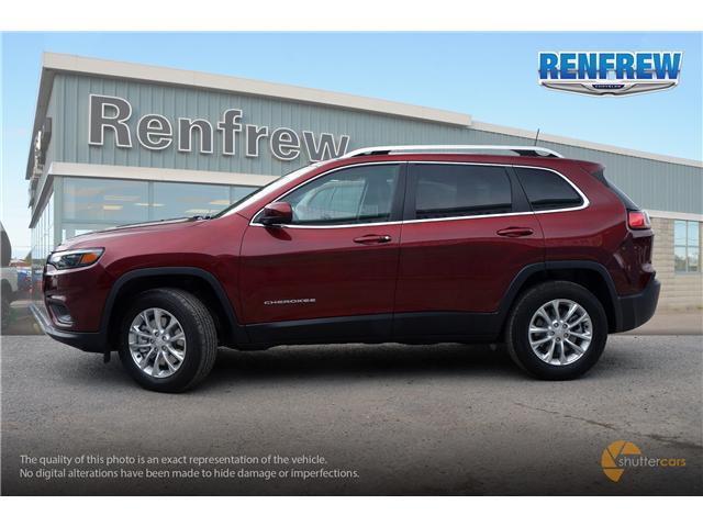 2019 Jeep Cherokee North (Stk: K012) in Renfrew - Image 3 of 20