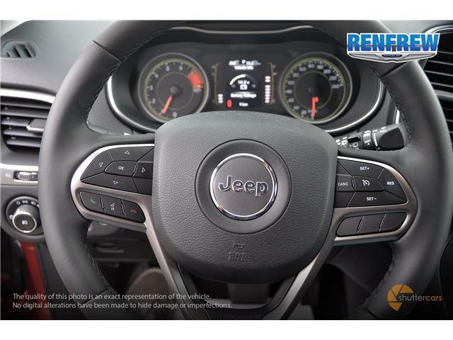 2019 Jeep Cherokee North (Stk: K012) in Renfrew - Image 12 of 20