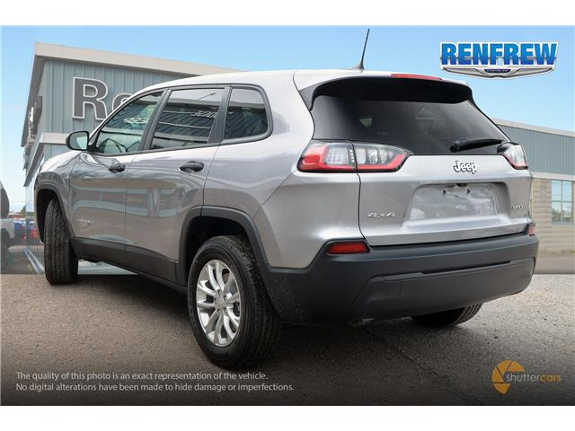 2019 Jeep Cherokee Sport (Stk: K013) in Renfrew - Image 4 of 20