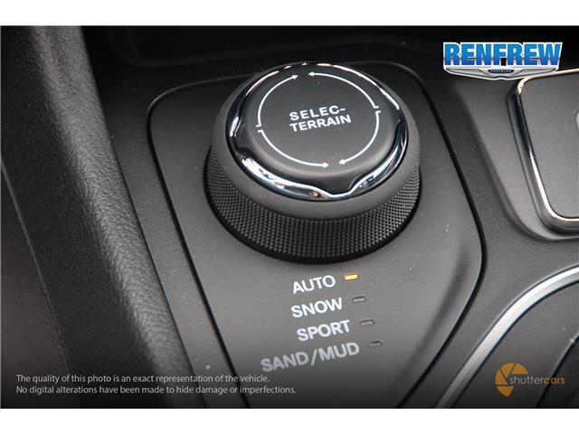 2019 Jeep Cherokee Sport (Stk: K015) in Renfrew - Image 18 of 20
