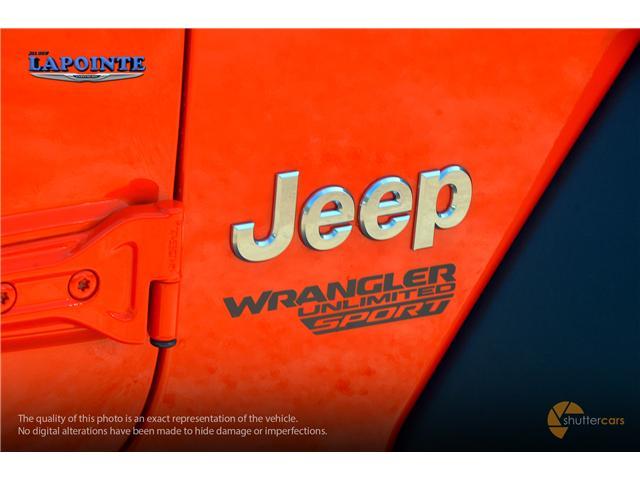 2018 Jeep Wrangler Unlimited Sport (Stk: 18303) in Pembroke - Image 5 of 20