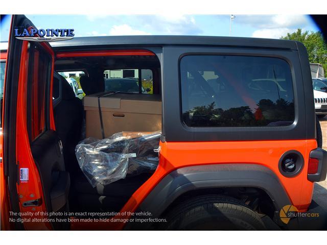 2018 Jeep Wrangler Unlimited Sport (Stk: 18303) in Pembroke - Image 8 of 20
