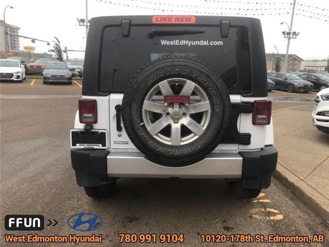 2017 Jeep Wrangler Unlimited Sahara (Stk: P0645) in Edmonton - Image 7 of 22