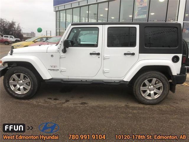 2017 Jeep Wrangler Unlimited Sahara (Stk: P0645) in Edmonton - Image 9 of 22