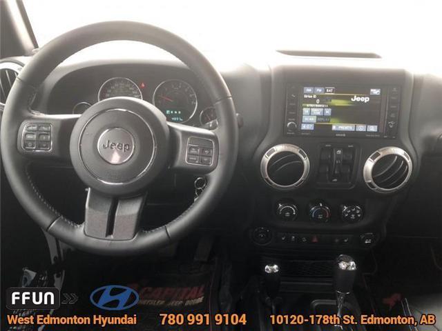 2017 Jeep Wrangler Unlimited Sahara (Stk: P0645) in Edmonton - Image 13 of 22