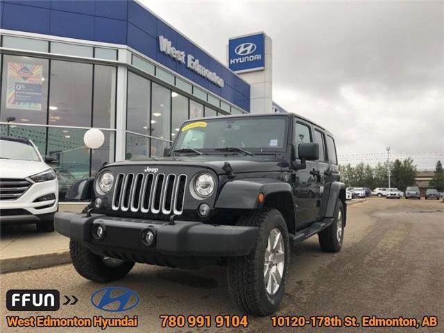 2017 Jeep Wrangler Unlimited Sahara (Stk: P0647) in Edmonton - Image 1 of 21