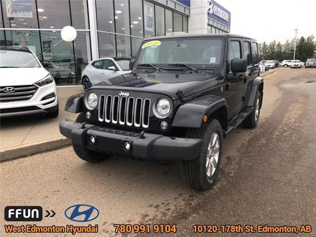 2017 Jeep Wrangler Unlimited Sahara (Stk: P0647) in Edmonton - Image 2 of 21