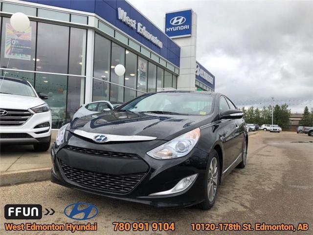 2014 Hyundai Sonata Hybrid Limited (Stk: 83576A) in Edmonton - Image 1 of 24