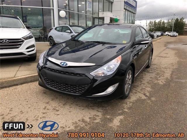 2014 Hyundai Sonata Hybrid Limited (Stk: 83576A) in Edmonton - Image 2 of 24