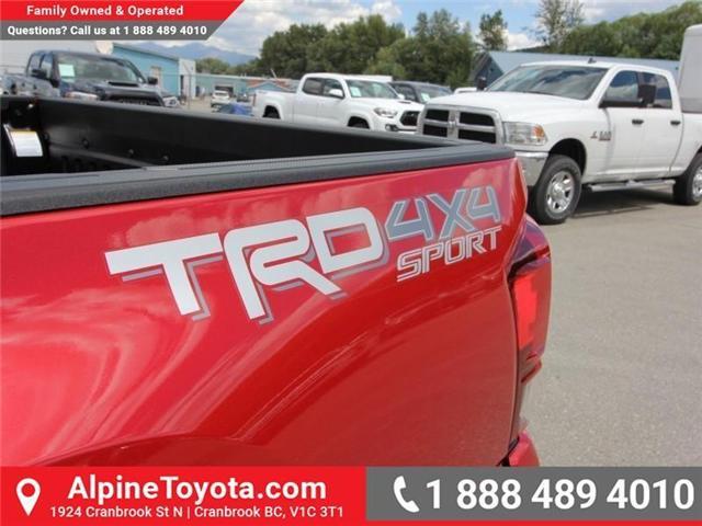 2018 Toyota Tacoma SR5 (Stk: X035981) in Cranbrook - Image 16 of 17