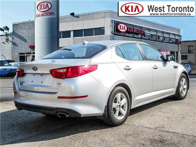 2014 Kia Optima LX (Stk: P388) in Toronto - Image 5 of 21