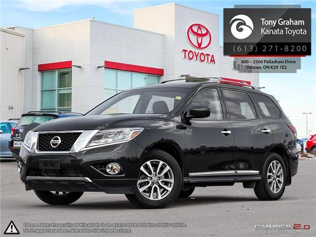 2016 Nissan Pathfinder SL (Stk: B2802) in Ottawa - Image 1 of 28