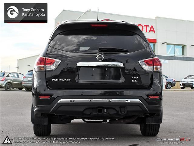 2016 Nissan Pathfinder SL (Stk: B2802) in Ottawa - Image 5 of 28