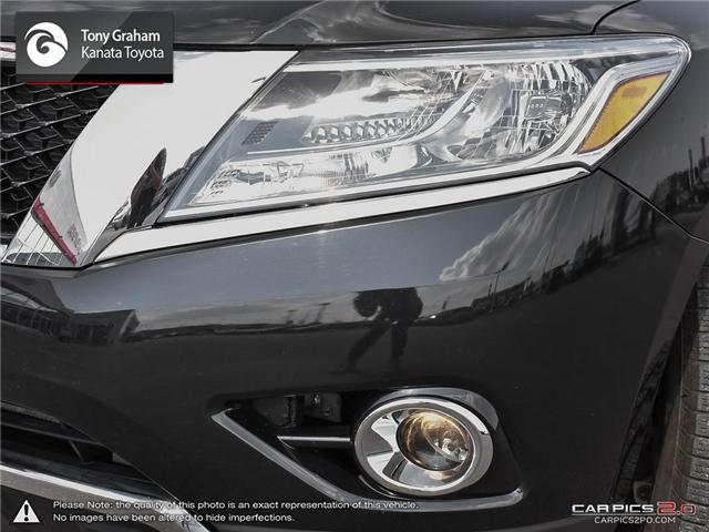 2016 Nissan Pathfinder SL (Stk: B2802) in Ottawa - Image 10 of 28