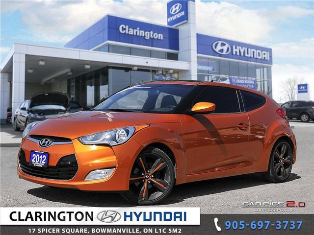 2012 Hyundai Veloster Tech (Stk: 18534A) in Clarington - Image 1 of 27
