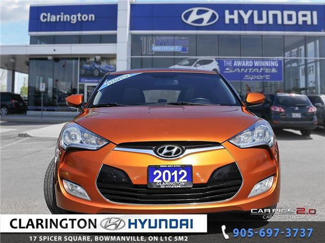 2012 Hyundai Veloster Tech (Stk: 18534A) in Clarington - Image 2 of 27