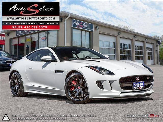 2015 Jaguar F-TYPE S (Stk: 1JGXF121) in Scarborough - Image 1 of 27