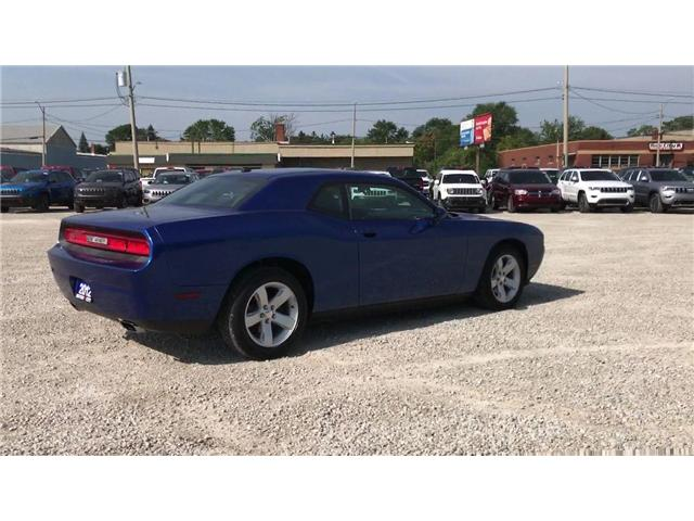 2012 Dodge Challenger SXT Low K's Cruise Satellite Radio Connectivity (Stk: 1959A) in Windsor - Image 8 of 11