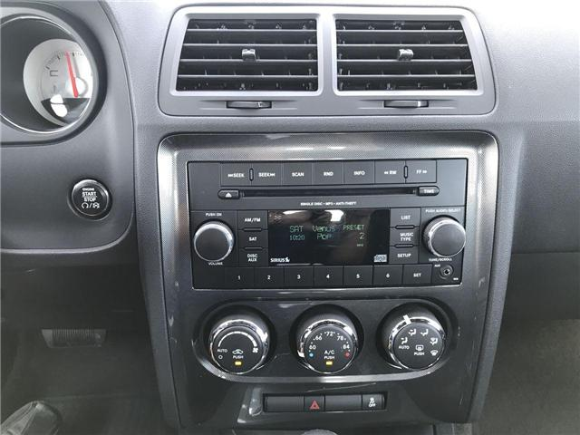 2012 Dodge Challenger SXT Low K's Cruise Satellite Radio Connectivity (Stk: 1959A) in Windsor - Image 11 of 11