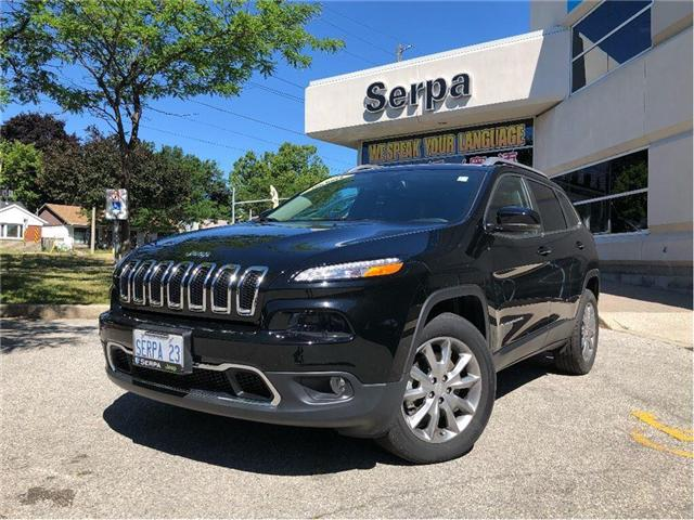 2017 Jeep Cherokee Limited (Stk: 174102) in Toronto - Image 1 of 20